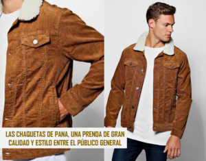 venta minorista 48195 057d8 Las Chaquetas de Pana, calidad y estilo en tu closet ...